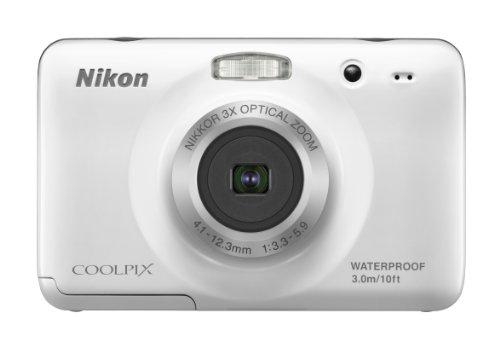 Nikon 26317 Coolpix S30 Wht 10.1mp Tru