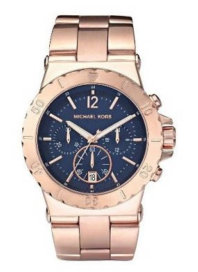 Michael Kors Women's MK5410 Bel Air Chronograph Blue Dial Watch