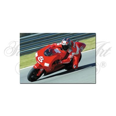 Minichamps Yamaha Yzr M1 (Diecast Model Yamaha YZR-M1 (Max Biaggi) (1:12 scale by Minichamps) in Red by Minichamps)