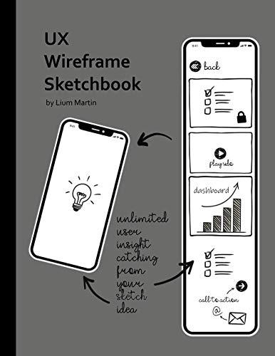 (UX Wireframe Sketchbook: Mobile Device UX/UI Wireframe Sketchbook for fast UI Prototype Design and Web App Usability Testing)