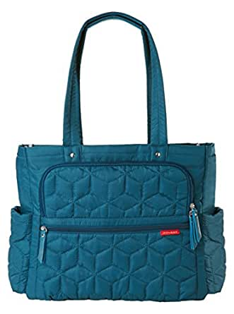 Skip Hop Forma Travel Carry All Diaper Bag Tote with Insulated Bag, One Size, Peacock