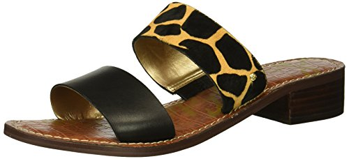 Heeled Edelman Women's Sandal New Sam Jeni Nude Black WtFnwOxO56