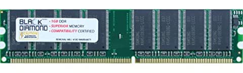 1GB Memory RAM for Compaq Point Of Sale System RP5000 184pin PC2700 333MHz DDR DIMM Black Diamond Memory Module - Rp5000 Point Of Sale Pc