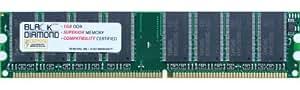 1GB Memory RAM for Acer Veriton 7600GT Series, 3600D, 3600GX, 3600V, 3626G-D 40/256 184pin PC3200 400MHz DDR DIMM Black Diamond Memory Module Upgrade