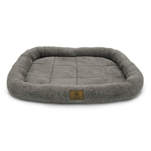 Image of American Kennel Club Crate Mat, 30 by 22-Inch, Gray