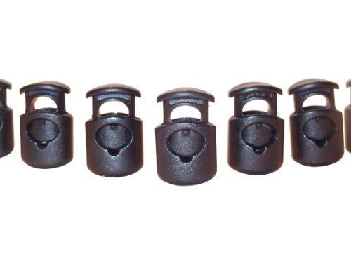 FMS Plastic Cord Locks (100 Pack)(Black) Color: Black Size: 100 Pack Model: Tools & Home Improvement