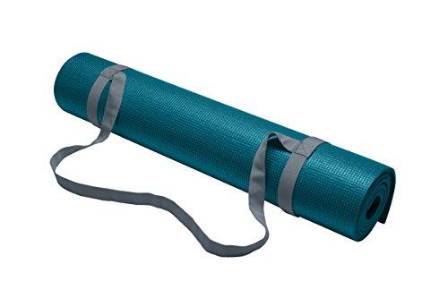 Gaiam Yoga Mat Sling, Cool Grey