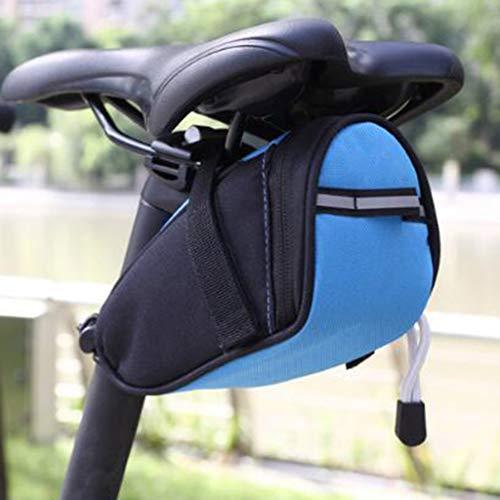 cordar Bicycle Saddle Bag Bike Bag Under seat Bag Mountain Road Bike Seat Bag Storage Bag Mountain Road Bicycle Bike…