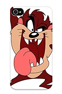 Honeyhoney Perfect Tpu Case For Iphone 4/4s/ Anti-scratch Protector Case (what Wa Your Fave Cartoon On Tv Growing Up)