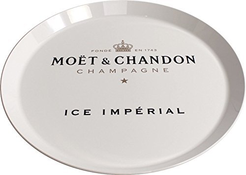 Moet & Chandon Ice Imperial Champagne Serving Tray Round Plate 20