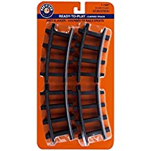 Lionel Ready-to-Play 12 Pc Curved Track Pack Train