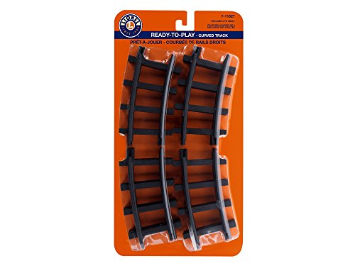 Lionel Ready-to-Play 12 Pc Curved Track Pack Train (Plastic Train Track)