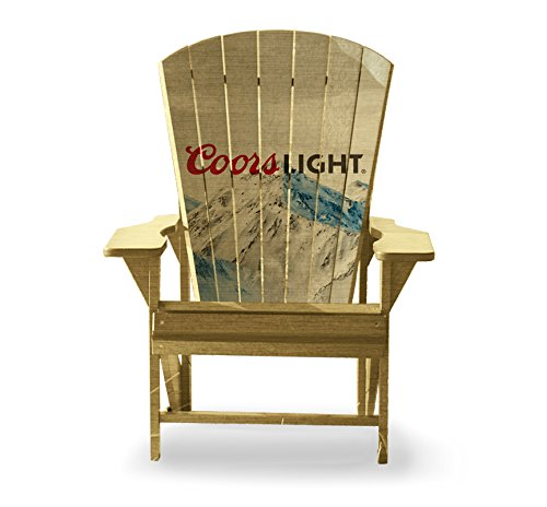 Coors Light Adirondack Chair by Slick Woody's Cornhole Co.