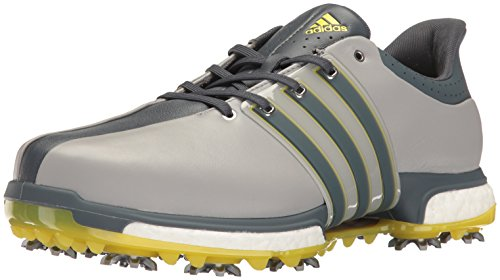 adidas Men's Tour 360 Boost WD Ltonix Golf Shoe, Grey, 11 2E US
