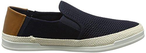 Steve Madden Surfari Slip on Sneaker, Baskets Homme Bleu (Navy 01105)