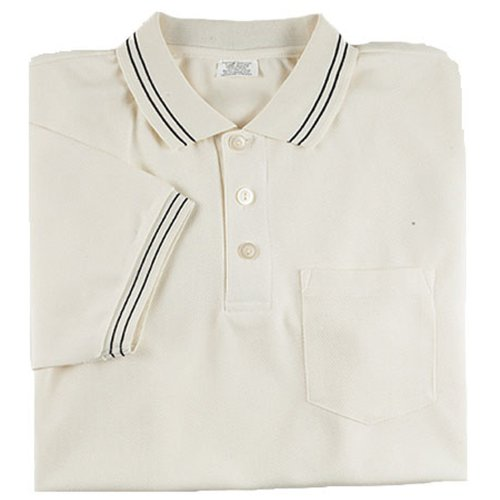- Adams USA Smitty Major League Style Short Sleeve Umpire Shirt with Front Chest Pocket (Cream, XXX-Large)