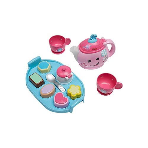 Fisher-Price Laugh & Learn Sweet Manners Tea Set, Brown/A