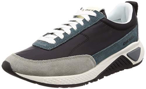 Diesel Men's SKB S-KB LOWLACE Sneaker, Balsam Green/Black, 10.5 M US