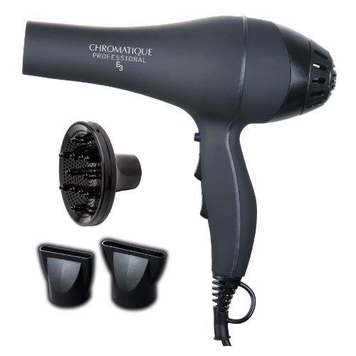 Chromatique Professional E3 5200 Non-Slip Tourmaline Ionic Ceramic Salon Hair Dryer