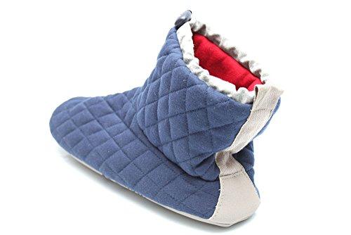 Bedroom Athletics Ottis M0751Nvy - Bottines d'intérieur matelassées - homme - Bleu marine