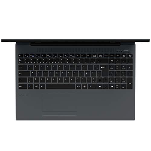 "Notebook Vaio FE15, Intel Core i3, 4GB RAM, HD 1TB, Tela LCD 15.6"" HD, Windows 10 - Chumbo Escuro"