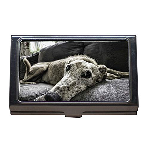 Business Card Holder Wallet Credit Card ID Case,Dog, used for sale  Delivered anywhere in Canada
