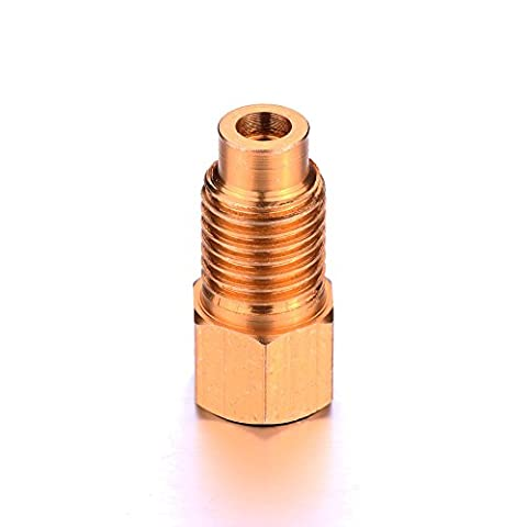 CSLU-Tool R-12 to R-134a Adapter Conversion Quick Connect Coupler Air Conditioning Adapter Set - Air Conditioning Service Valves