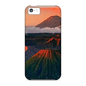 For Iphone Cases, High Quality Potuhschie Volcanoes For Iphone 5c Covers Cases
