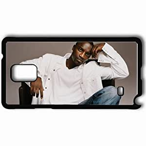 Personalized Samsung Note 4 Cell phone Case/Cover Skin Akon singer songwriter jeans Music Black