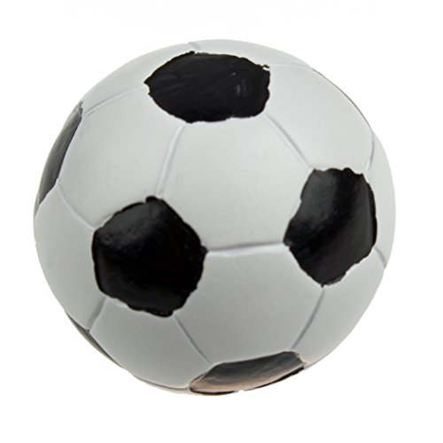 GlideRite Hardware 1070-SB-10 Soccer Ball Hand-Painted Realistic Sports Cabinet Knobs 10 Pack