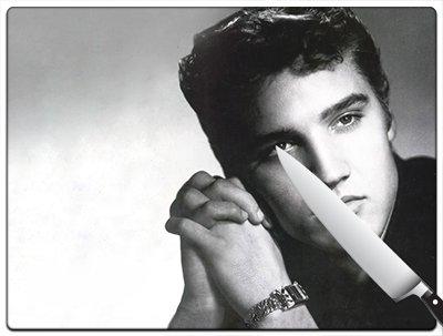 Elvis Presley The King v11 Large Cutting Board B017AKWC2Q