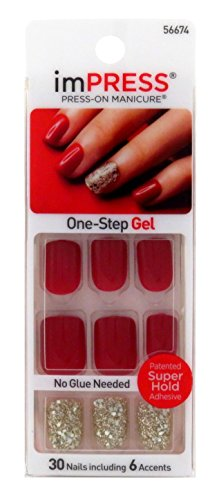 Kiss Products Tweetheart False Nail, 30 NAILS including 6 accents