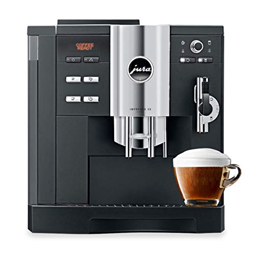 Jura Impressa S9 Classic One Touch Cappucino Espresso Coffee Machine, Black (Renewed)