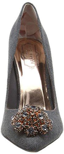 Ted Baker Peetch, Zapatos de Tacón para Mujer Gris (Grey)