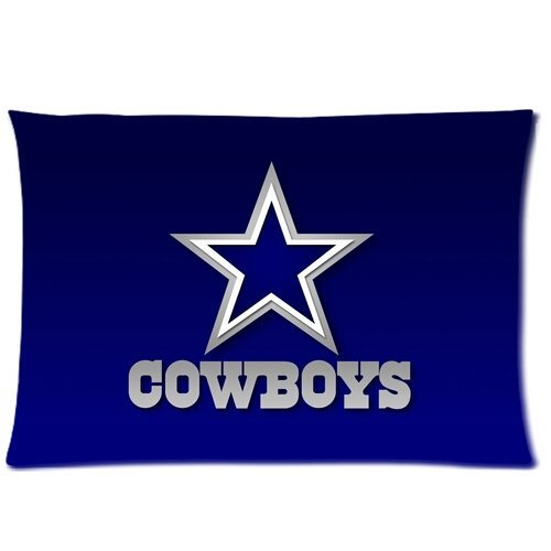 Chetery NFL Dallas Cowboy Logo Printed Best Gifts Decorate Pillowcase Custom Pillowcase (Dallas Cowboy Bedding)