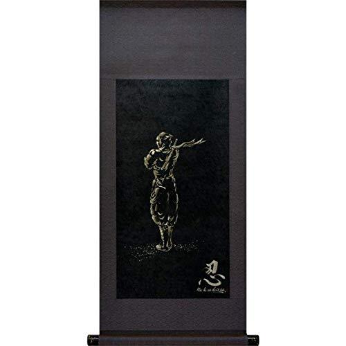 Kakejiku : Tapestry Ninja Shinobi 36x85cm(14.1x33.5in) for sale  Delivered anywhere in USA