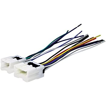 41rDjw%2BkK2L._SL500_AC_SS350_ amazon com aftermarket car stereo radio receiver wiring harness w receiver wiring harness at alyssarenee.co