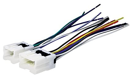amazon com scosche nn03b wire harness to connect an aftermarket rh amazon com