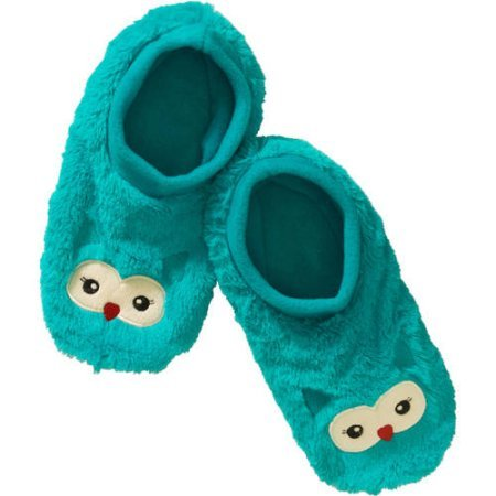 Women's Footies Teal Owl S/M