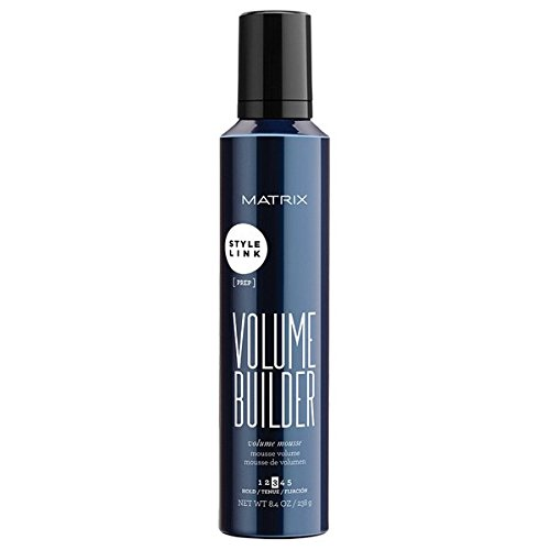Matrix Style Link Volume Builder Volume Mousse Medium Hold, 8.4 Oz. (Packaging May Vary)