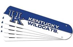 Ceiling Fan Designers 7990-KTY New NCAA KENTUCKY WILDCATS 52 in. Ceiling Fan Blade Set