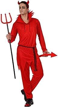 Atosa - Disfraz de diablo para hombre, talla 50 (8422259103370 ...