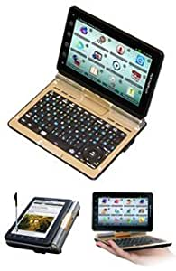 Ectaco Partner LUX EF English French 2 Way Free Speech Translator & Language Teacher. Speech Recognition. Talking Electronic Dictionary. 5' Android Tablet w/ Keyboard. LUX/EF
