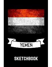 Yemen Sketchbook: Blank Pages Yemen Sketchbook for Drawing Sketching / Yemen Drawing Book / Yemen Art Supplies / Yemen lovers
