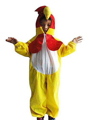 Petitebella Chicken Costume 1pc for Unisex Children 2-8y (6-8 Years)