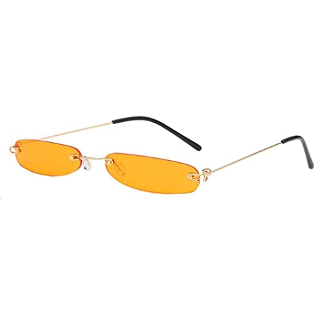 Amazon.com: Mini Sunglasses for Women, Volwco Personality ...