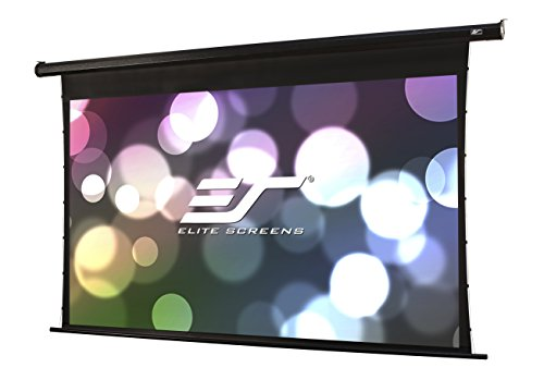 Elite Screens Spectrum Tab-Tension, 125-inch 16:9, 4K Tensioned Electric Motorized Projection Projector Screen, ELECTRIC125HT