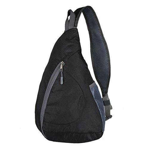 Packable Shoulder Backpack Sling Bag Chest CrossBody Bag Ruc