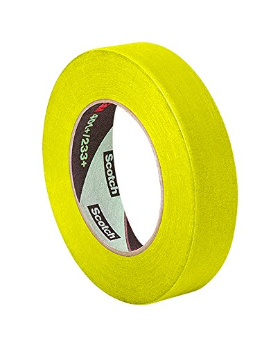 Yellow Masking Tape (3M 301+ 0.75