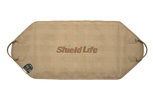 Shield Life TheraPad XL Far Infrared Heating Pad with Red Clay Pellets Professional Grade (38 x 18)